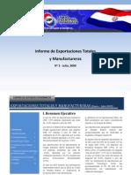 Exportaciones del Paraguay 2009