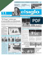 Edición Impresa Elsiglo 11-01-2016