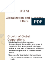 Ethics Unit VI