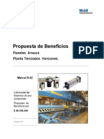 02-10-15- Propuesta de Beneficios - Marcol N 82 PANELES ARAUCO (1)