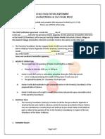 kinder world child facilitation agreement