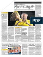 NANO GUERRA GARCIA, CANDDIATO PRESIDENCIAL POR SOLIDARIDAD NACIONAL. Diario El Comercio_2016-01-11_#04