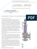 Introduction to Valves - Only the Basics - Process Safety- Pressure Relief Valve (PRV)