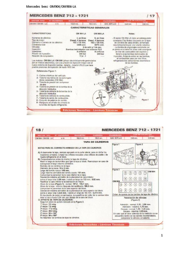 159711500 mercedes benz om904 om 906 la pdf rh scribd com Mercedes-Benz Manual 2000 2004 Mercedes-Benz C-Class