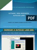 MANUAL  AUTOCAD 3D LAND 2009.ppt