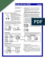 Manuale d'uso - Casioprotrek Prg 100