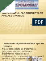 Tratamentul Parodontitelor Apicale Cronice