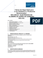 MSDS para electrodos de alambre de acero de carbono sólido.pdf