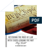 Restoring the Rule of Law 01082016
