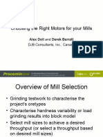 Choosing the Right Motors for Your Mills