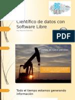 Científico de Datos Con Software Libre