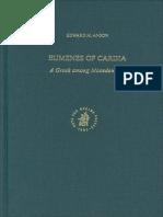 Edward M. Anson - Eumenes of Cardia a Greek Among Macedonians