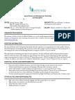 Special Events and Development Internship Position Description SP15