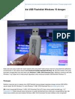 Cara Membuat Bootable USB Flashdisk Windows 10 Dengan Sangat Mudah