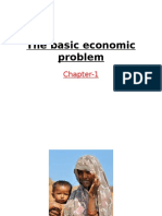 The Basic Economic Problem