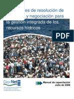 Manual Resolución de Conflictos Cap-Net