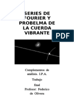 Fourier y La Cuerda Vibrante