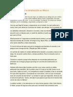 Usos Del Acero en La Construcción en México