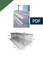 diseño jaulas artesanales para codornices