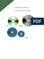 Vinilo, CD, Dvd