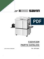 VT3600, VT6000 parts manual