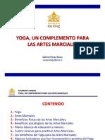 Yoga, un complemento para Artes Marciales