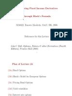 European Options on Bonds Using Black's Formula
