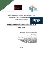 Trabajo Final de Responsabilidad Social