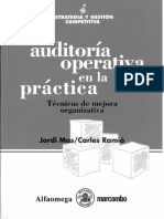 La Auditoria Operativa en La Practica