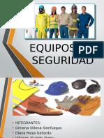 Equipos de SeguriEQUIPOS-DE-SEGURIDADdad
