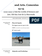 Padlet - Sciences and Arts. Comenius 13-15