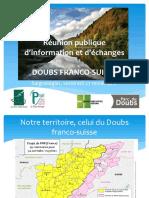 Réunion Publique du Pays Horloger-Parc du Doubs 27 Novembre 2015