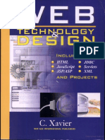 Web technology and Designbyc.xavier