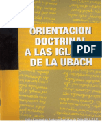 Orientaciones Doctrinales IBR 2015