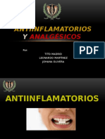 Antinflamatorios y Analgesicos. 10 08 15. 1137
