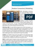 MMC Modeling