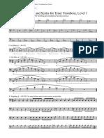 Tenor Trombone Level 1