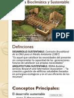S.01 Arquitectura Sustentable