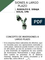 Inversiones a Largo Plazo