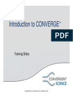 Session01-Introduction to CONVERGE