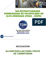 TDM - Proyectos viales