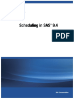 Scheduling in SAS 9.4