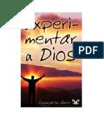 Boff Leonardo - Experimentar a Dios