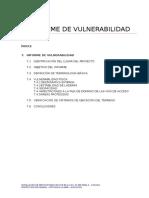 7. Informe de Vulnerabilidad - Cochas