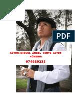 CV Actuacion Miguel Cente