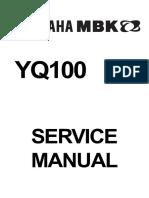 Service Yamaha - YQ100 Nitro