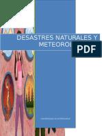 Monografia Uap - Desastres Naturales