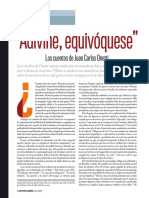 Adivine, Equivóquese. Los Cuentos de Juan Carlos Onetti, por Juan Villoro