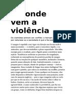 De Onde Vem a Violência