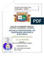 Facultad de Ingeniería Mecánica Eléctrica